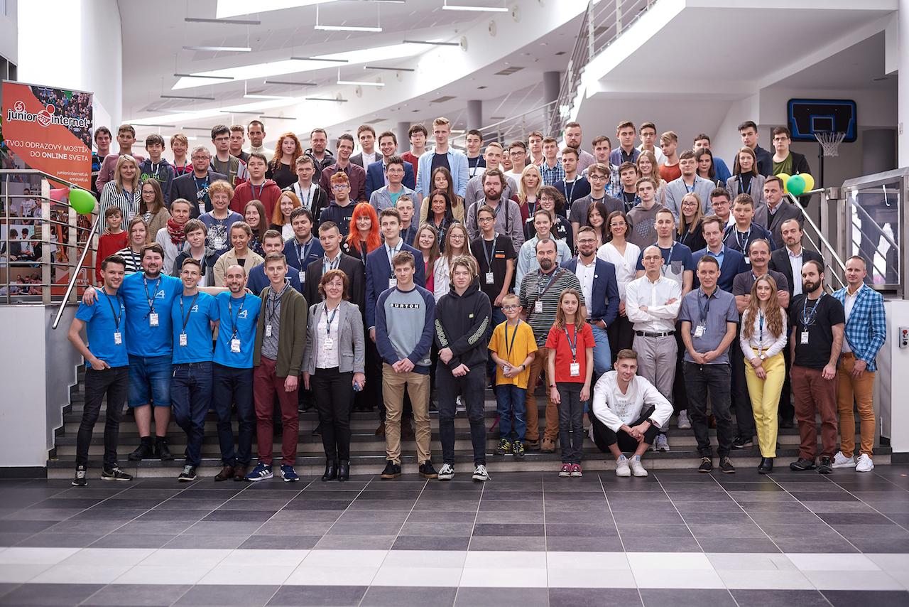 Junior Internet 2019, galeria Amavet, fotografie Amavet, FIIT STU